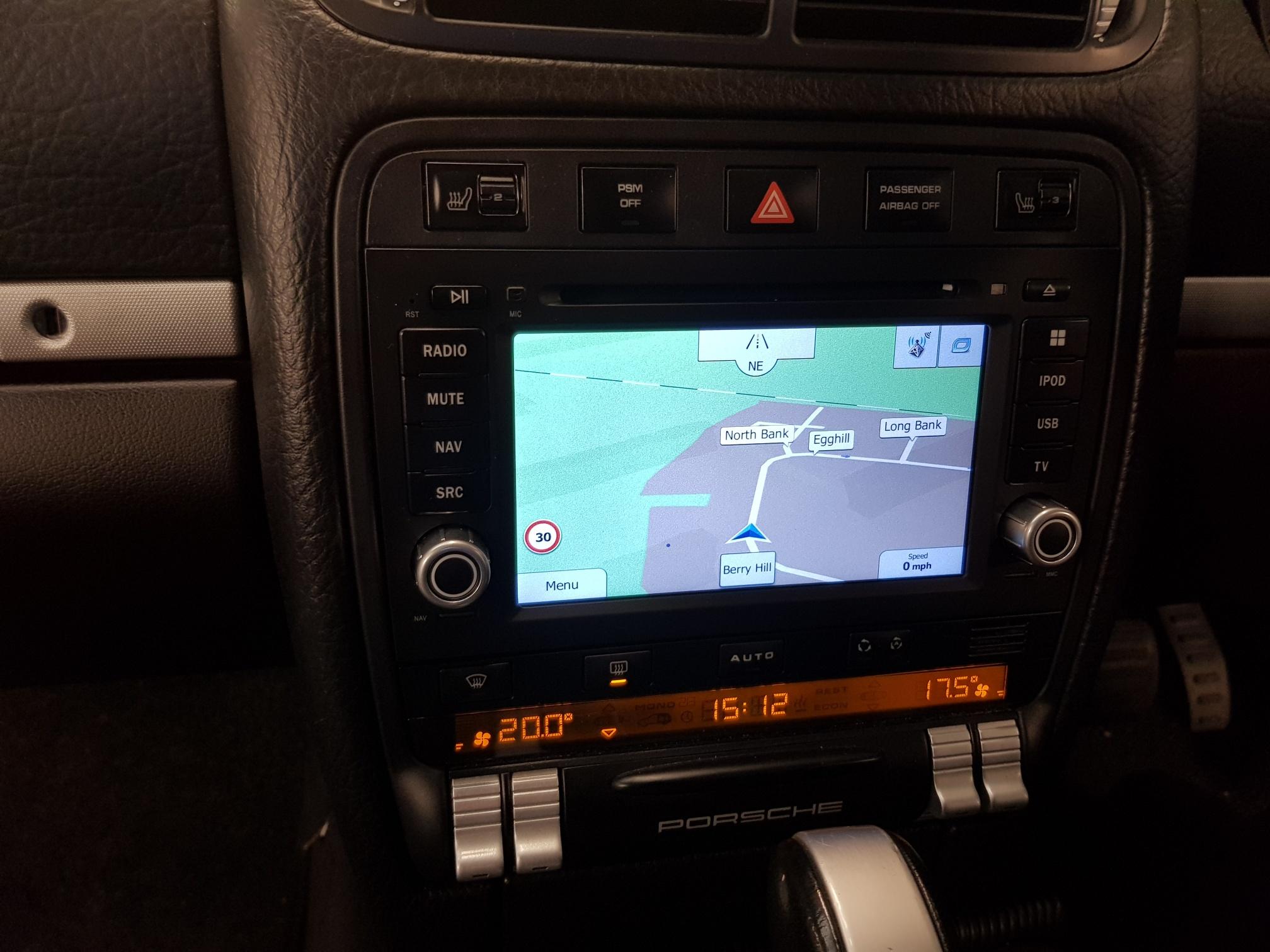 Dynavin N7-PC PRO Porsche Cayenne 2003-2010 - Apple CarPlay & Android Auto