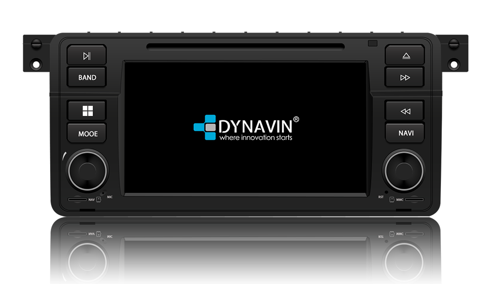 Dynavin N7-E46 PRO 3-Series with Apple CarPlay, Android Auto