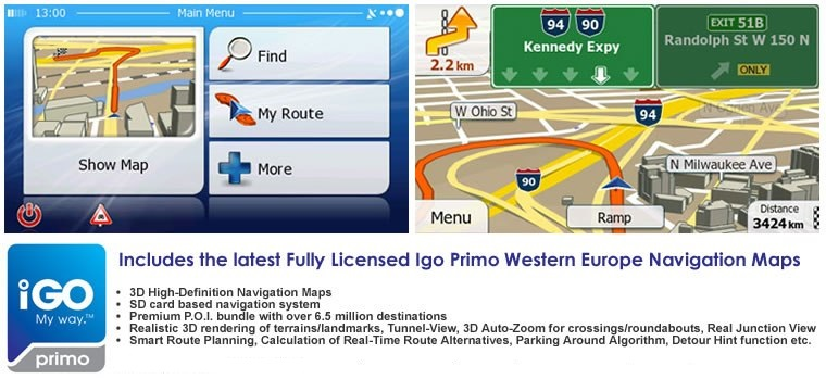 Igo primo western europe mapping software for dynavin n6 systems to download a user manual please see link httpdynavinimagespdfigoprimousermanulpdf publicscrutiny Image collections
